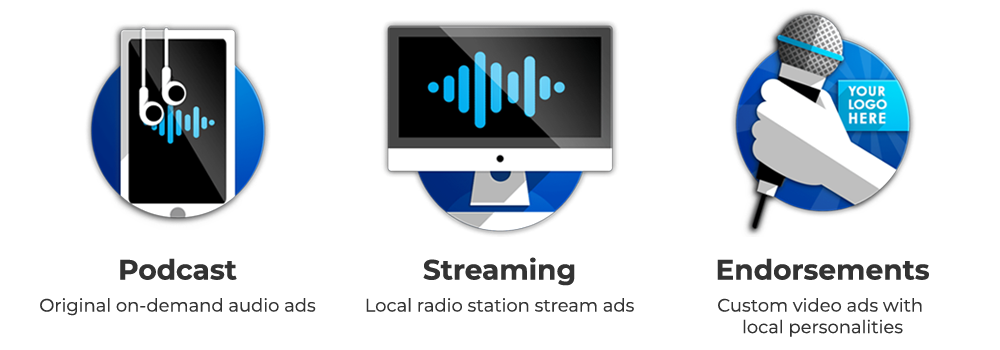 Podcast Audio Streaming Live Endorsements